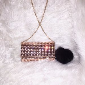 The Ultimate Sparkly Cross Body Party Clutch